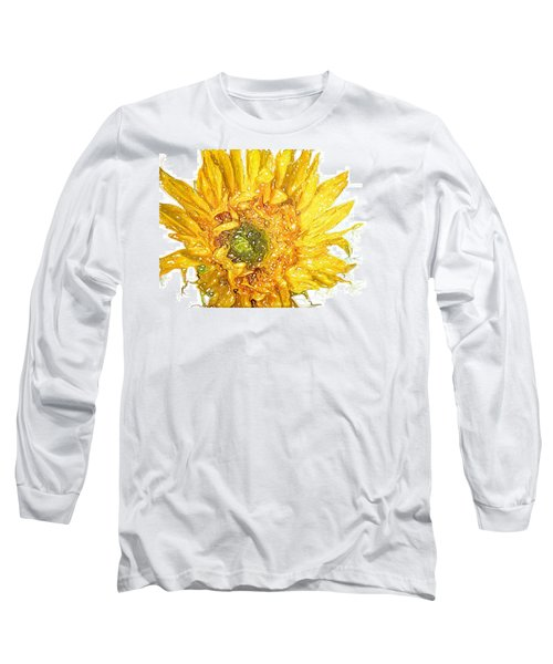 Wild Flower Two  Long Sleeve T-Shirt by Heidi Smith