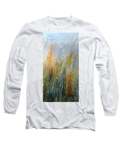 Wild Flowers And Hay Long Sleeve T-Shirt
