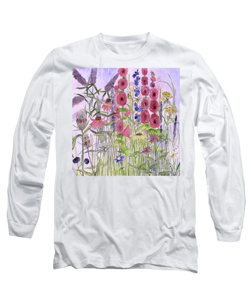 Wild Garden Flowers Long Sleeve T-Shirt