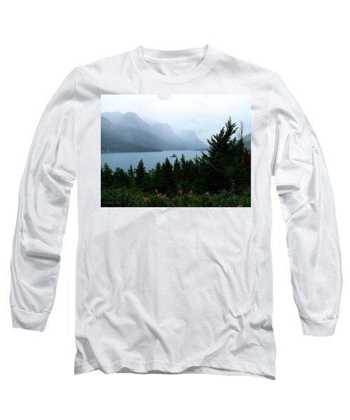 Wild Goose Island In The Rain Long Sleeve T-Shirt