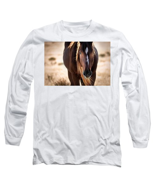 Wild Horse Watching Long Sleeve T-Shirt