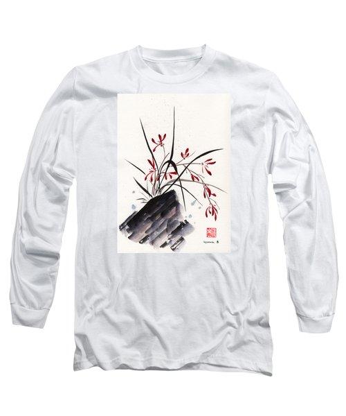 Open Hearts Long Sleeve T-Shirt by Bill Searle