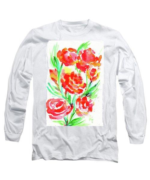Wild Reds  Long Sleeve T-Shirt