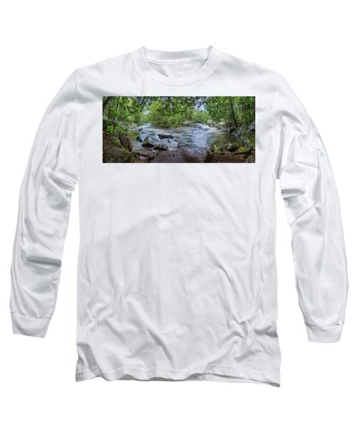 Long Sleeve T-Shirt featuring the photograph Wilderness Waterway by Bill Pevlor