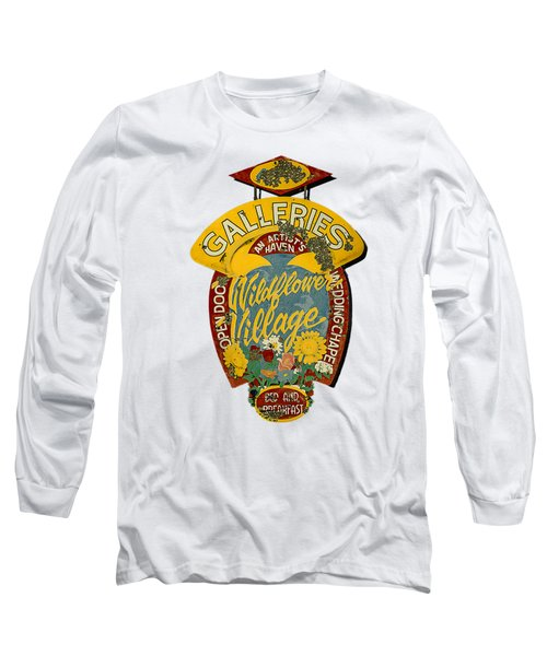 Wildflower Village Long Sleeve T-Shirt by Rick Mosher
