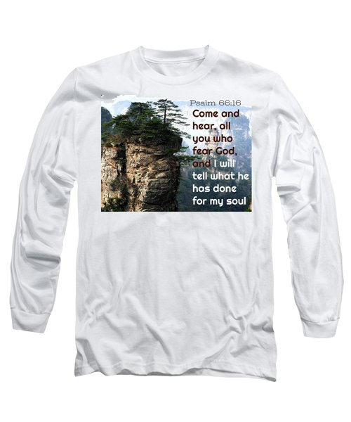 Will Do All For All Long Sleeve T-Shirt