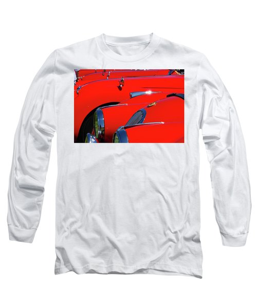Long Sleeve T-Shirt featuring the photograph Will The Owner Of The Red Car by John Schneider