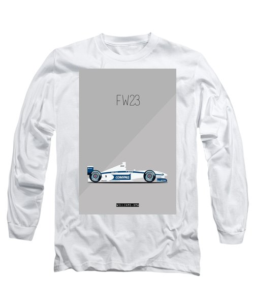 Williams Bmw Fw23 F1 Poster Long Sleeve T-Shirt