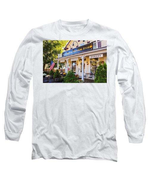 Williamsburg General Store Mass Long Sleeve T-Shirt