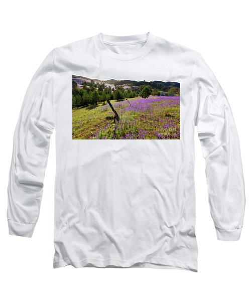 Long Sleeve T-Shirt featuring the photograph Willow Springs Station by Bill Robinson