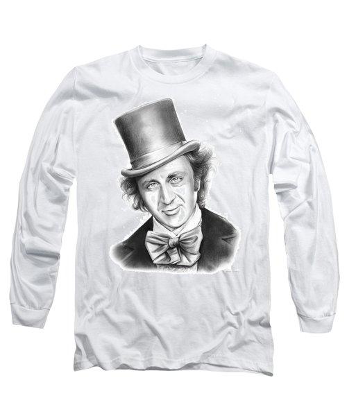 Willy Wonka Long Sleeve T-Shirt