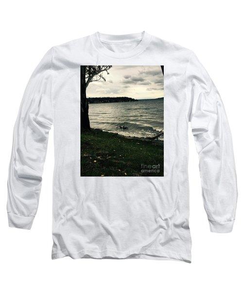 Wind Followed By Waves Long Sleeve T-Shirt