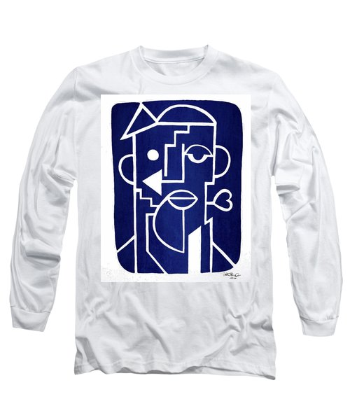 Wind Up Man By Erod Art Long Sleeve T-Shirt