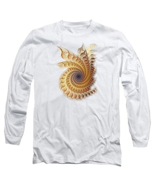 Long Sleeve T-Shirt featuring the digital art Winding by Anastasiya Malakhova