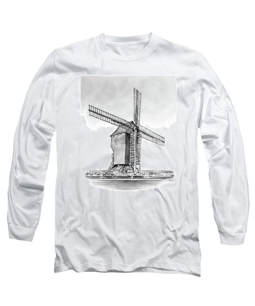 Windmill At Valmy Long Sleeve T-Shirt