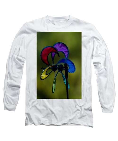 Long Sleeve T-Shirt featuring the photograph Windmill  by Ramabhadran Thirupattur