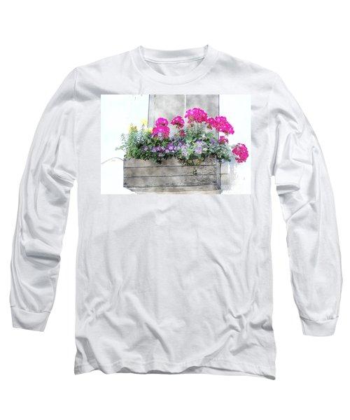 Window Box 5 Long Sleeve T-Shirt