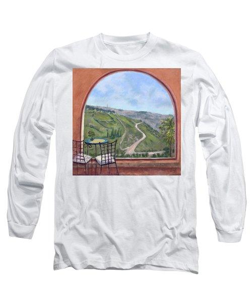 Window To Jerusalem Long Sleeve T-Shirt