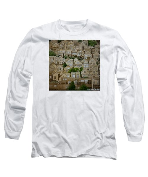 Windows Of Bernal Heights Long Sleeve T-Shirt
