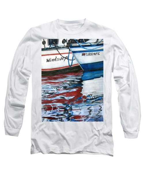 Windswept Reflections Sold Long Sleeve T-Shirt by Lil Taylor