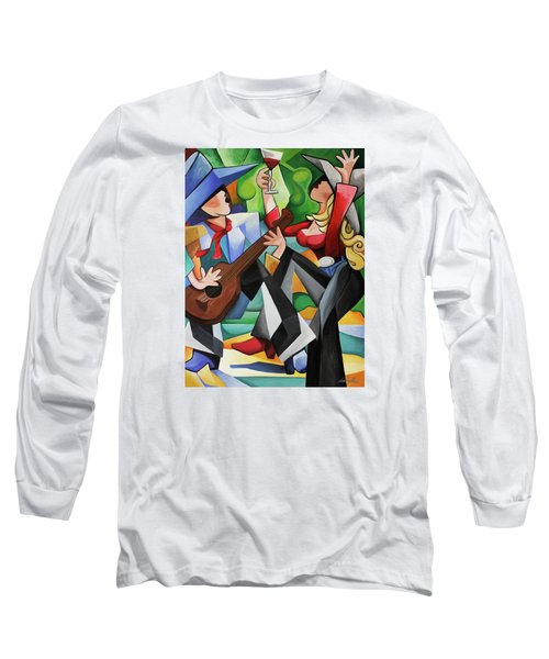 Wine Party Long Sleeve T-Shirt