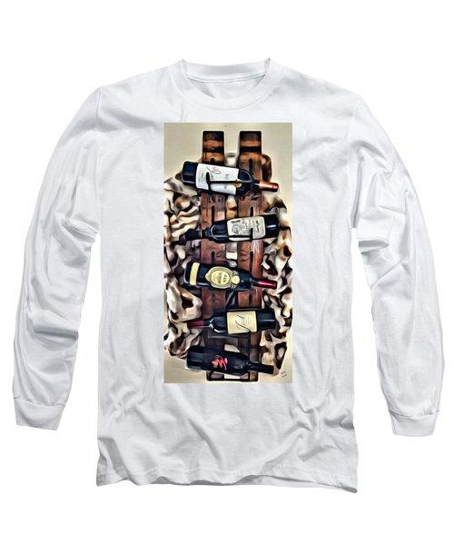 Wine Rack Long Sleeve T-Shirt