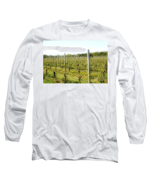 Wineries, Long Island, Ny Long Sleeve T-Shirt