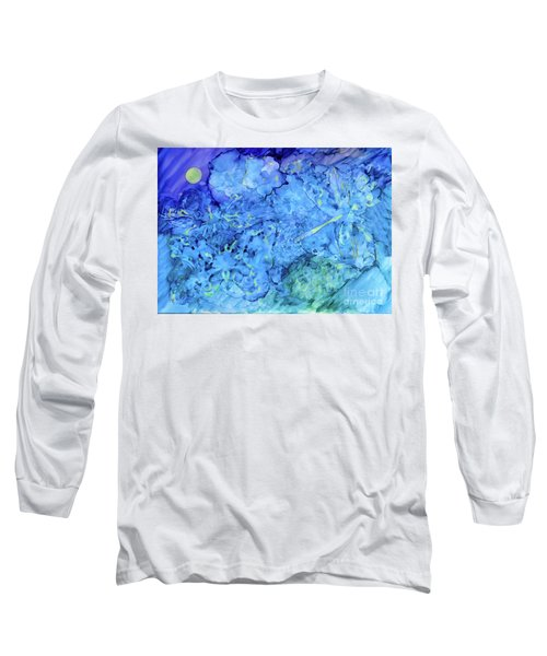Winged Chaos Under The Moon Long Sleeve T-Shirt