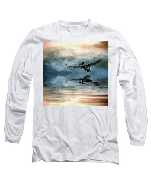 Wings Up Long Sleeve T-Shirt by Cyndy Doty