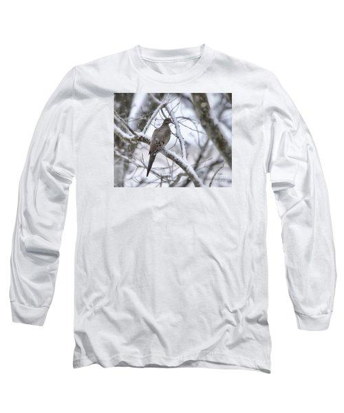 Winter Admiration Long Sleeve T-Shirt by Kerri Farley