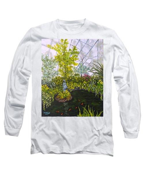 Winter At Allan Gardens Long Sleeve T-Shirt