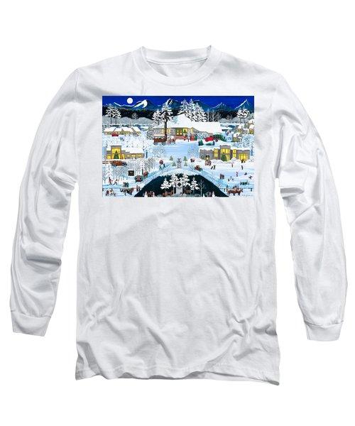 Winter At Black Butte Long Sleeve T-Shirt