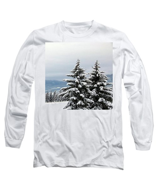 Long Sleeve T-Shirt featuring the photograph Winter Bliss by Will Borden