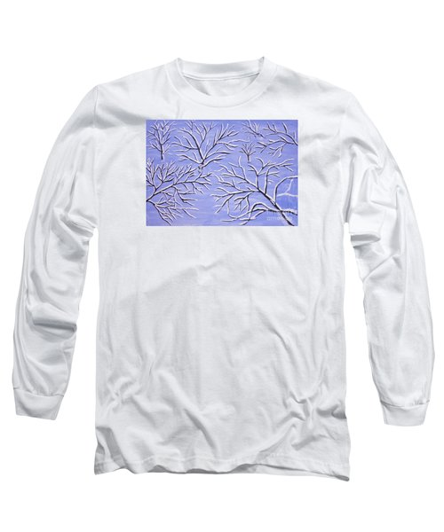 Winter Branches, Painting Long Sleeve T-Shirt