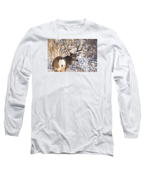 Winter Buck Long Sleeve T-Shirt