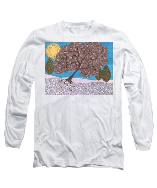 Winter Calm Long Sleeve T-Shirt