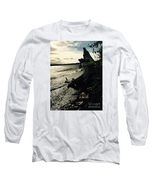 Winter Comes To The Sea Long Sleeve T-Shirt