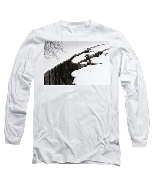 Long Sleeve T-Shirt featuring the photograph Winter Dreams by Paula Guttilla