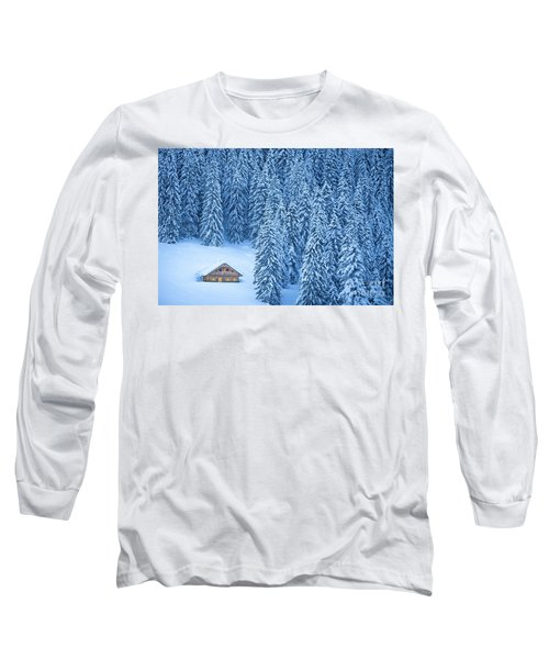 Winter Escape Long Sleeve T-Shirt by JR Photography