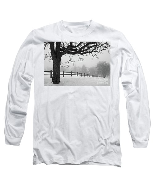 Winter Fog Long Sleeve T-Shirt by Kevin McCarthy