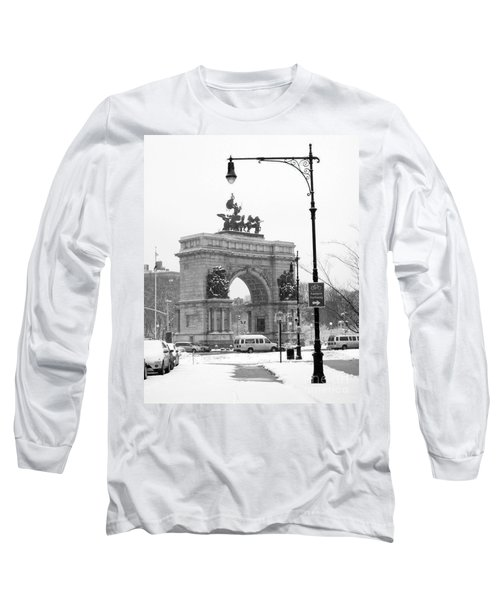 Winter Grand Army Plaza Long Sleeve T-Shirt
