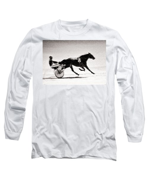 Winter Harness Racing Long Sleeve T-Shirt