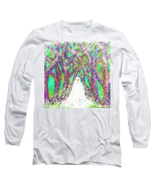 Winter Long Sleeve T-Shirt by Hidden Mountain