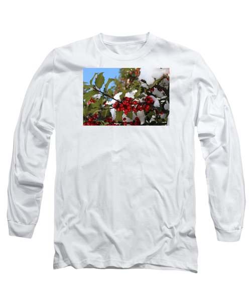 Winter Holly Long Sleeve T-Shirt