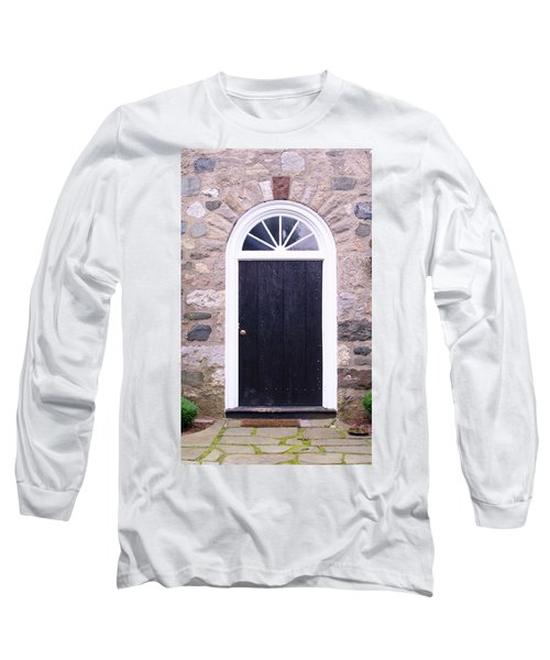 Winter House Door Long Sleeve T-Shirt