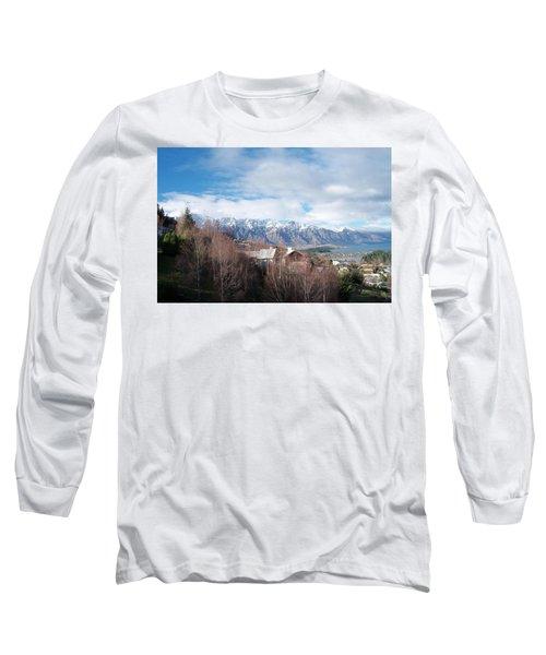 Winter In Queenstown Long Sleeve T-Shirt