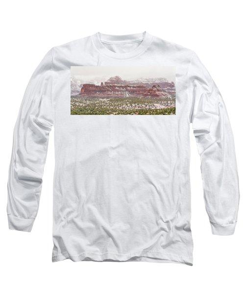 Winter In Sedona Long Sleeve T-Shirt