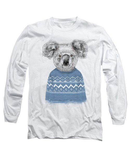 Winter Koala Long Sleeve T-Shirt