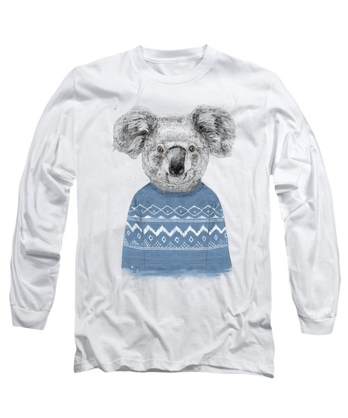 Winter Koala Long Sleeve T-Shirt