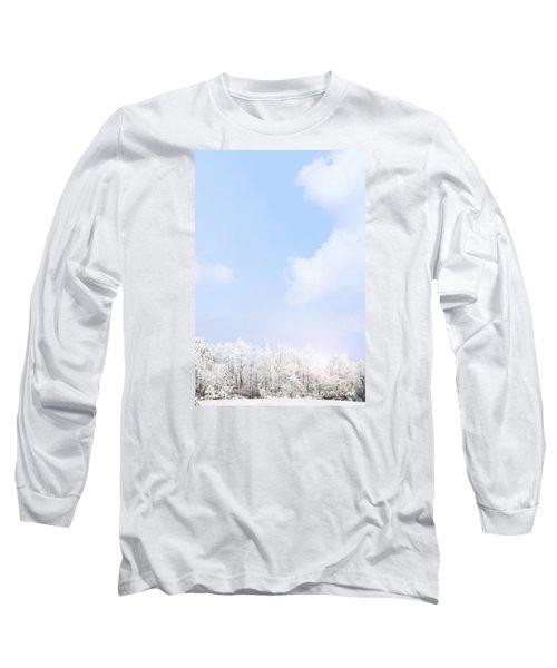 Winter Landscape Long Sleeve T-Shirt by Stephanie Frey